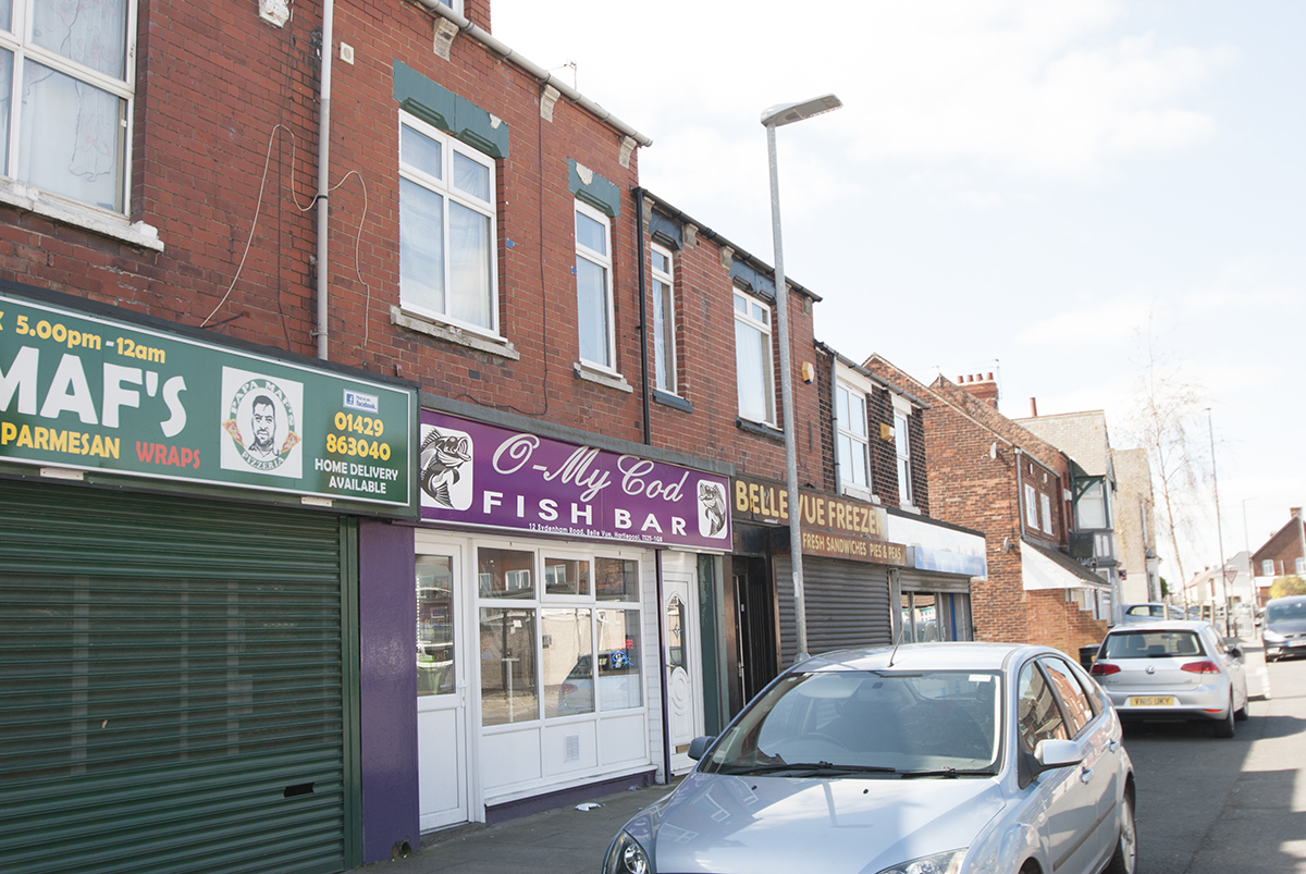 Business for sale Fish & Chip Shop with Flat OIRO £75000