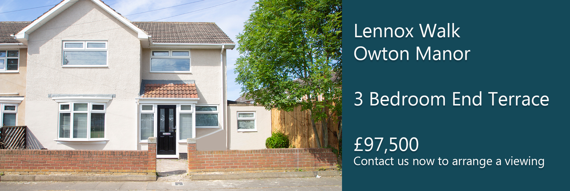 Lennox Walk Owton Manor Hartlepool £97,500 **UNDER OFFER**