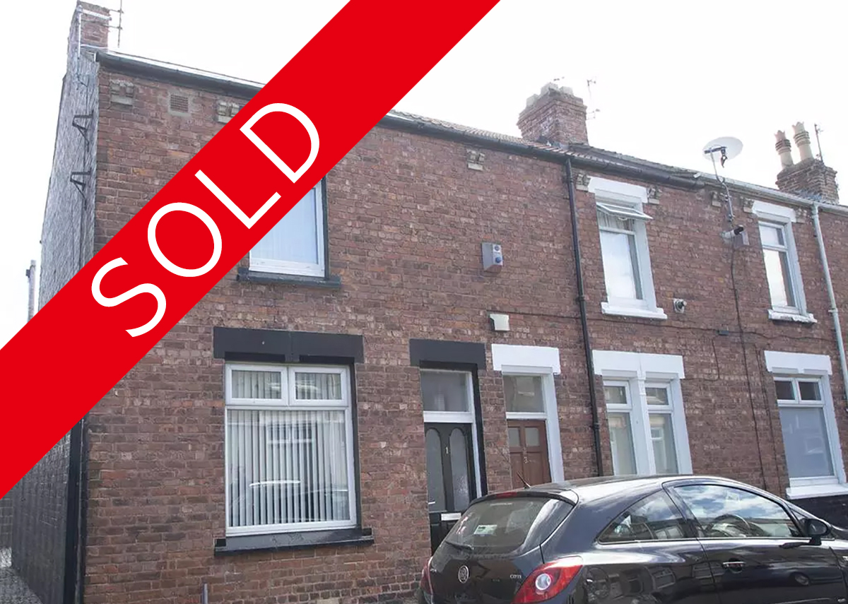 RAEBURN STREET HARTLEPOOL O/O £30,000 *Tenant in Situ* SOLD